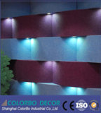 Panneau de mur 3D intérieur, écrans antibruits de fibre de polyester