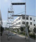 装飾のための安全な二重幅のアルミニウム足場