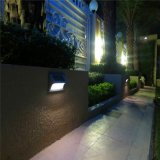 Lumière solaire imperméable à l'eau de l'escalier IP65 de type de mur de boîtier aluminium décoratif solaire moderne de lumière