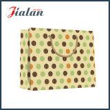 L'OEM bon marché estampé par logo de ventes en gros personnalisent le sac de papier de Brown