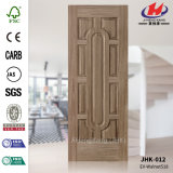 Кожа двери Veneer грецкого ореха Африки черная отлитая в форму MDF