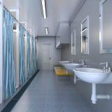 Conteneur préfabriqué durable pour la toilette publique et la pièce de douche