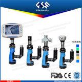 Microscope FM-BJ-x métallurgique portatif avec la source lumineuse verticale