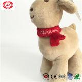Le cadeau bourré par qualité douce animale debout de Noël d'orignaux badine le jouet