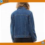 偶然新しい女性のデニムの綿のジーンのジャケットのコートはデニムのジャケットより長持ちする