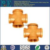 Ajustage de précision de pipe en laiton fait sur commande de bâti de haute précision