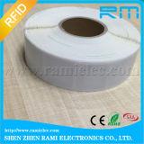 Étiquette de papier d'IDENTIFICATION RF d'à haute fréquence avec l'étiquette du collant NFC d'IDENTIFICATION RF de tag RFID de l'impression NFC