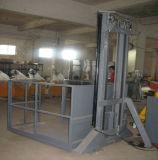 Platform van de Lift van de Lading van het Pakhuis van de Lift van de Vracht van de Ketting van het Spoor van het lood het Verticale Hydraulische voor Controle Met meerdere balies