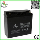 12V 17ahのAGMの技術の手入れ不要の鉛酸蓄電池