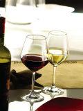 Vidro de vinho de cristal sem chumbo (B-WG066)
