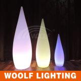 LED 정원 훈장 빛이 물 하락 램프 훈장에 의하여 점화한다