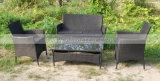 庭の屋外のための柳細工の藤の家具のKdの構造の椅子(MTC-055)