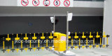 Porta automática inteligente das barreiras do lote de estacionamento do carro com barreira do sistema do estacionamento do carro do crescimento da cerca