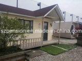Casa de la alta calidad del bajo costo/chalet móviles prefabricados/prefabricados