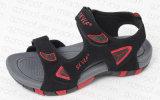 2016人の新しいデザインは遊ばす靴PUのサンダル(RF16142)を