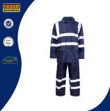 De hoge Laag van de Regen van de Politie van het Verkeer van de Laag van de Regen van Workwear van het Overtrek van het Zicht Waterdichte