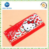 Form PVC Plastic Pen Bag mit Zipper (JP-plastic049)