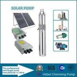 Sistema de bomba submergível solar da água da C.C. da energia eléctrica e da teoria da bomba centrífuga