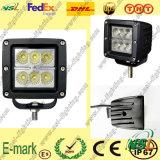 lumière de travail de 18W LED, 12V lumière de travail de C.C LED, lumière de travail de la série LED de Creee pour des camions