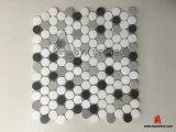 Neues Design Lantern White Marble Mosaic für Bathroom und Kitchen