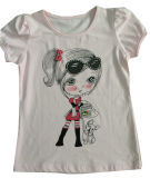 Children의 Wear Sgt-069에 있는 대중적인 Kids Girl T-Shirt