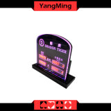 Muestra del dragón LED Limited (YM-LC05) Tabla Casino