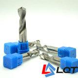 Boor van het Carbide van het wolfram de Stevige voor HRC55 Graad DIN 338 345 351