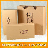Contenitore impaccante di carta per bustine di tè