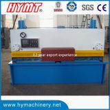 QC11y-10X6000 유압 단두대 깎는 기계 & 강철 플레이트 절단기