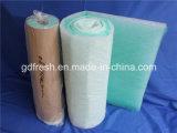 Pintar a coleção de poeira do filtro da fibra de vidro do quarto