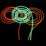 매우 호리호리한 네온 LED 표시 코드 빛