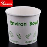 Logotipo feito sob encomenda copos impressos da sopa do PLA 16oz