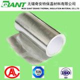 Tissu tissé fait face renforcé de papier d'aluminium