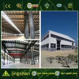 Gruppo di lavoro di produzione della struttura d'acciaio dell'indicatore luminoso dell'ampia luce fatto in Cina