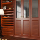 Oppein Cherry Wood pp. Wrapped Walk in Closet (YG15-PP01)
