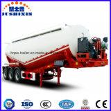 Semi Aanhangwagen van de Tankwagen van Cargotransport van het Cement van het Poeder van de lage Dichtheid de Materiële Bulk