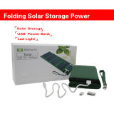 8000mAh 1.5A Solar Power Bank Multi-Fuction Batterie