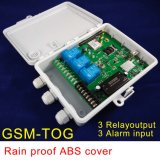 3 Alarm Input와 3 Relay Output를 가진 GSM Remote Controller