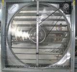Ventilador de ventilação pesado galvanizado do martelo da placa para aves domésticas e estufa