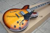 Double guitare de rayon de soleil de cru du trou F Es-335 Vos