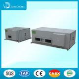 Коммерчески пол/потолок установили кондиционер блока R407c кондиционера трубопровода охлаженный водой упакованный