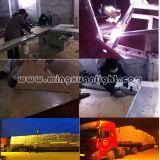 Алюминиевая ферменная конструкция крыши конструкции напольного этапа