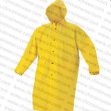 Hoodの昇進Polyester/PVC Different Color Long Raincoat