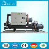 Refrigerador de refrigeração do parafuso de 100 Tr água industrial