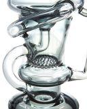De Rokende Waterpijp van het Glas van Bontek met de Recycleermachine van Klein van de Honingraat