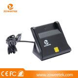 Одиночные читатель/сочинитель смарт-карты контакта USB