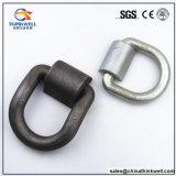 De gesmede Gegalvaniseerde Geselende D-vormige ring van de Container met Stichting