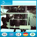 Pompa termica raffreddata aria industriale del refrigeratore della vite