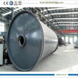 pyrolysis Way의 기계장치를 가공하는 10ton 폐기물 타이어