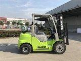 새로운 중국 닛산 K25 3t 가솔린 LPG 포크리프트